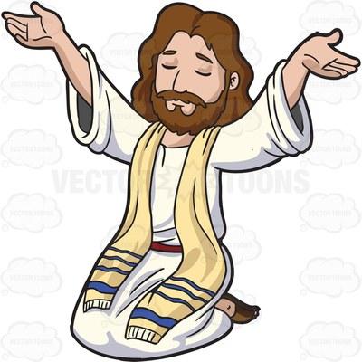 400x400 Jesus Christ Raising His Hands To Praise 1 Jesus Clipart