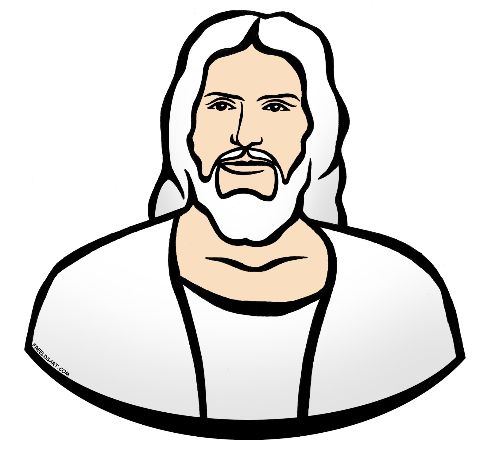 1600x1471 Jesus Clip Art Free Free Clipart Images