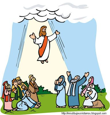383x400 Miracle Clipart Ascension