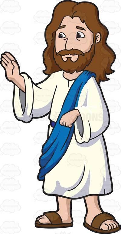 Jesus Cartoon Clipart