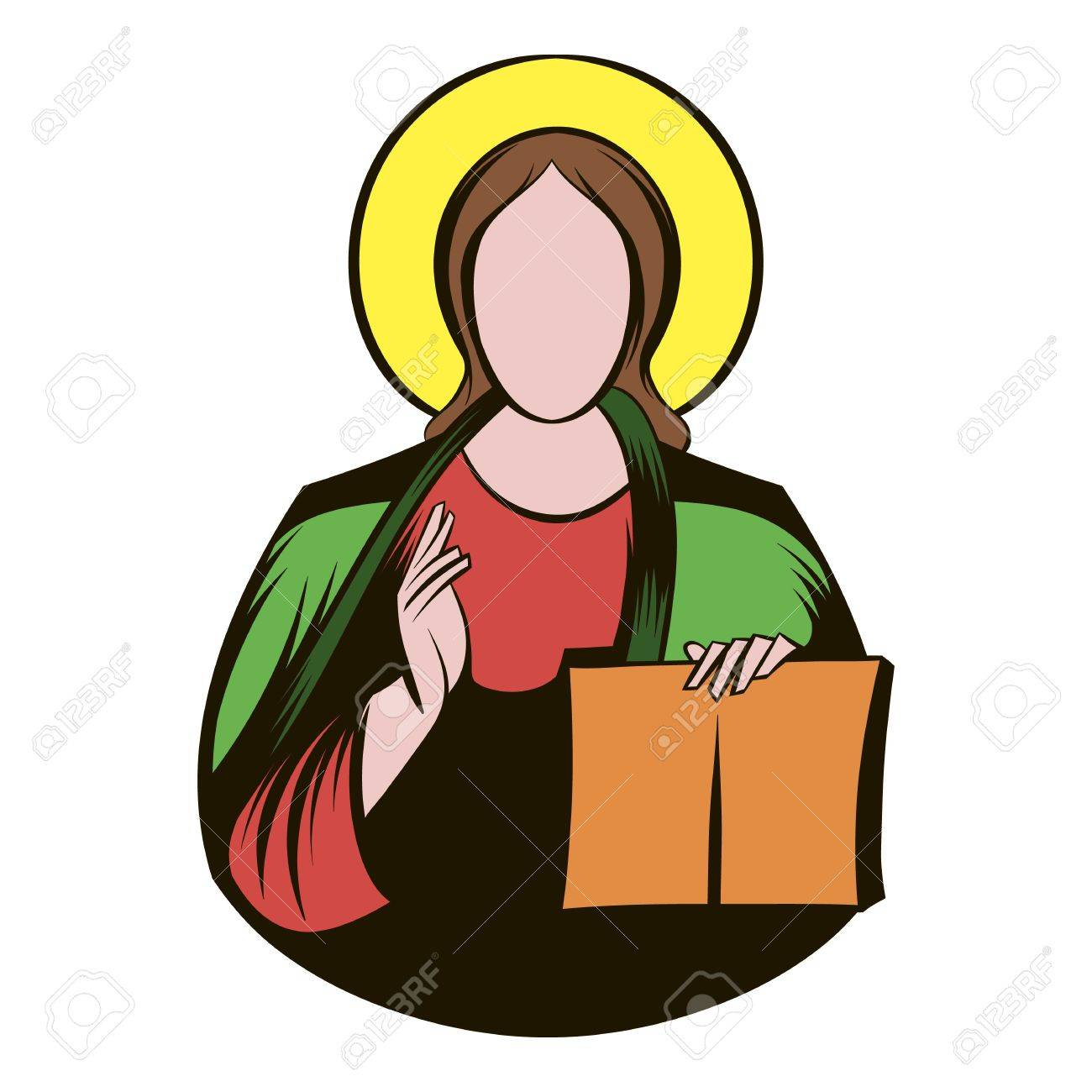 1300x1300 Jesus Christ Icon Cartoon Royalty Free Cliparts, Vectors,