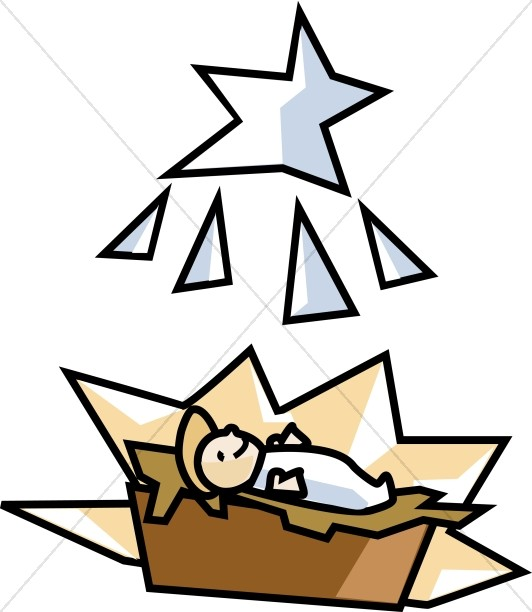 532x612 Baby Jesus Clipart Graphics Images 8