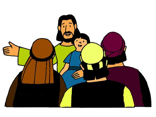 Jesus Children Clipart