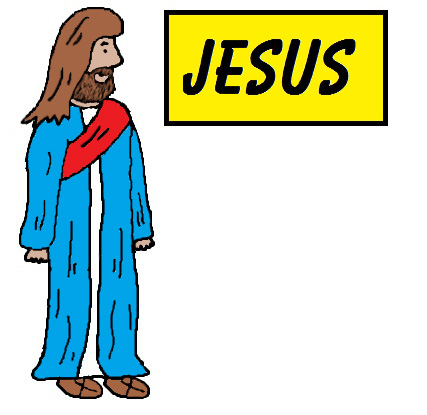 427x415 Jesus Easter Clipart Kid