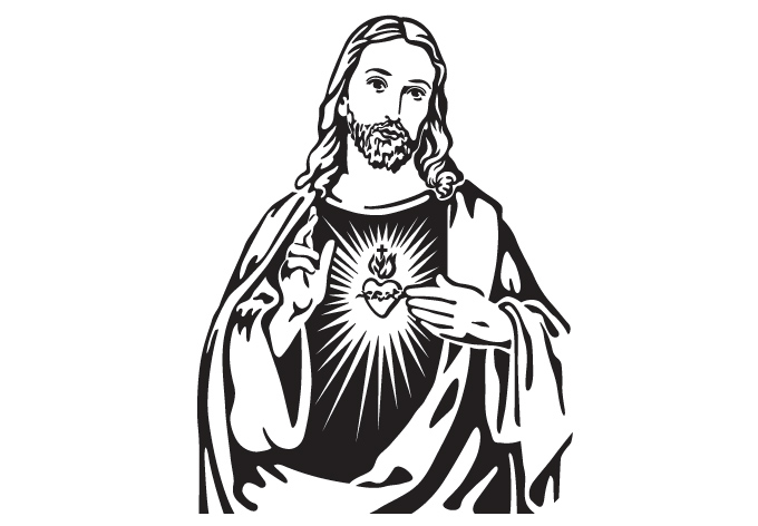 680x472 Drawing Clipart Jesus