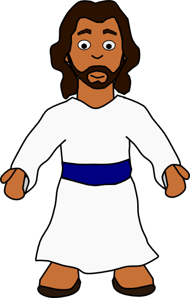 378x591 Free Cartoon Jesus Christ Clip Art