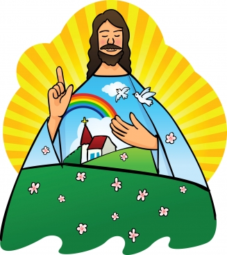 327x367 Jesus Clip Art Collection Of Free Arts Jesus Christ 2