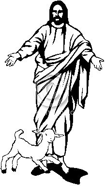 217x383 Jesus Christ Holding A Sheep Clipart Free Clip Art Images Id 34961