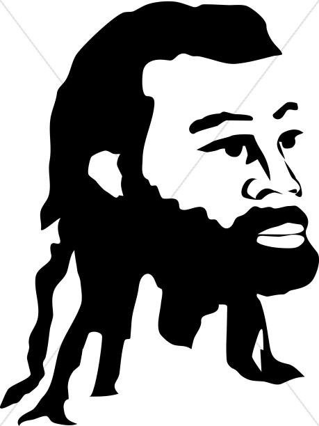 459x612 Graphics For Graphics And Clip Art Black Jesus