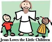 170x136 Jesus With Little Children Clipart