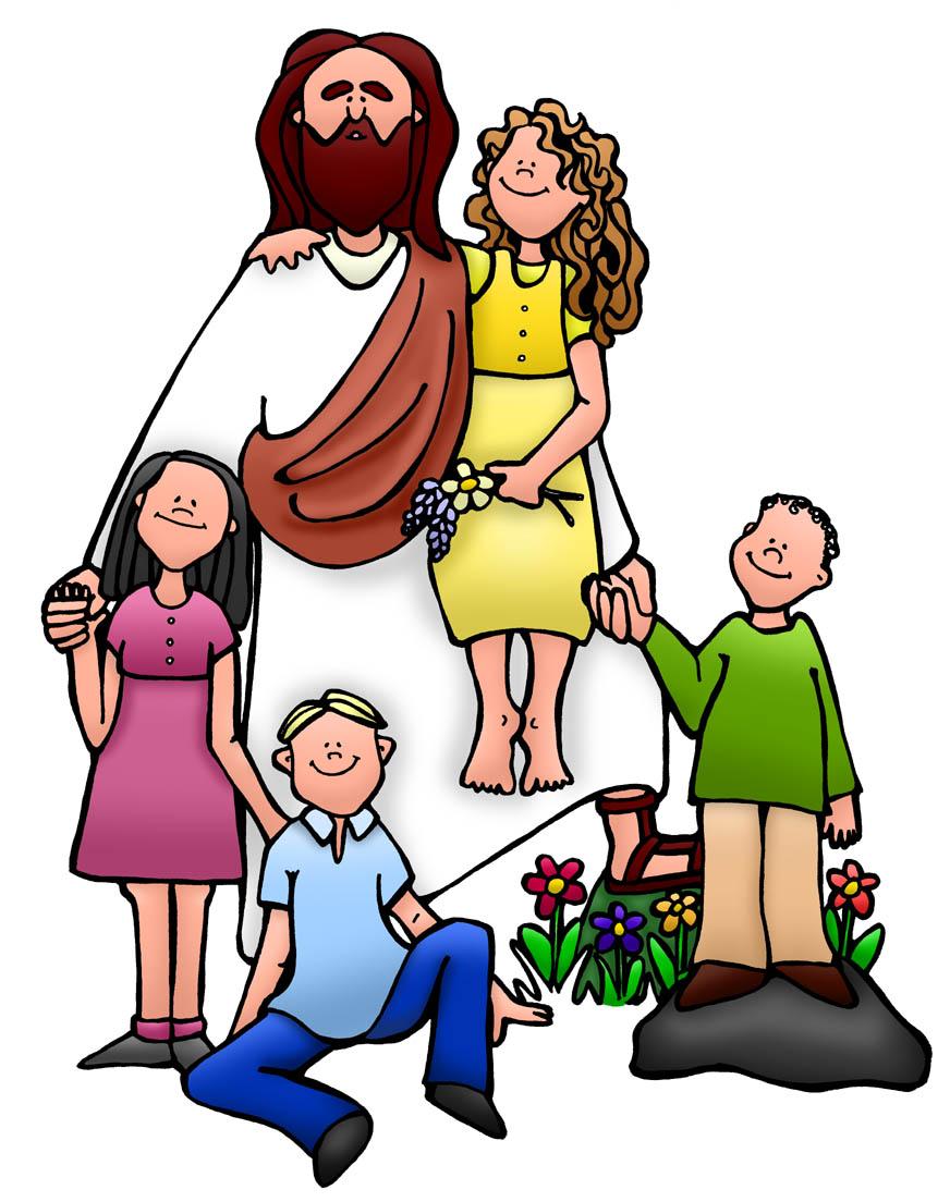 872x1104 Jesus And Children Clip Art