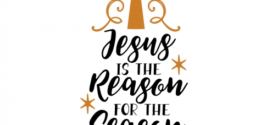 272x125 Jesus Is Reason For The Season Clip Art Clipart Collection