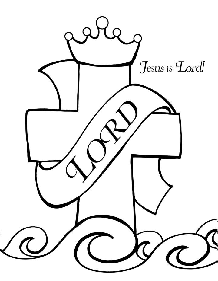 720x931 Christian Coloring Pages Lord Jesus