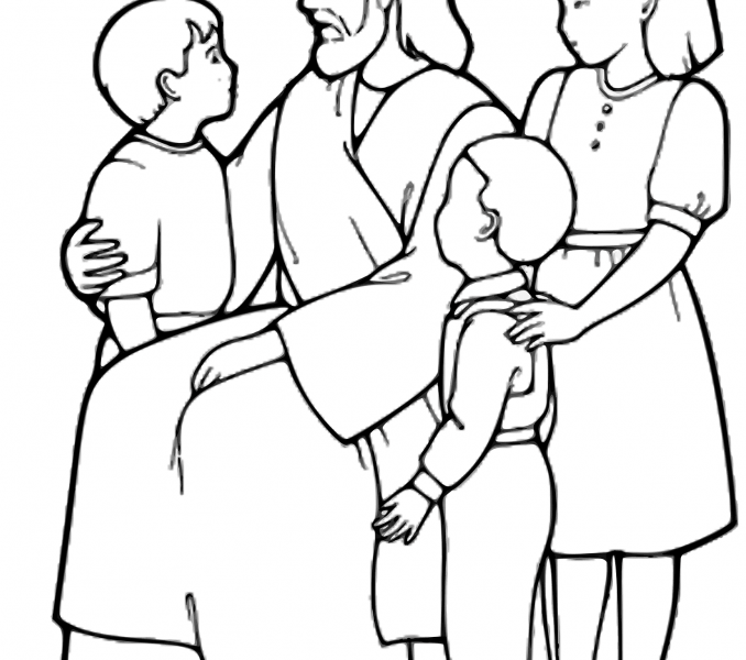 678x600 Coloring Pages Of Jesus Best Coloring Pages