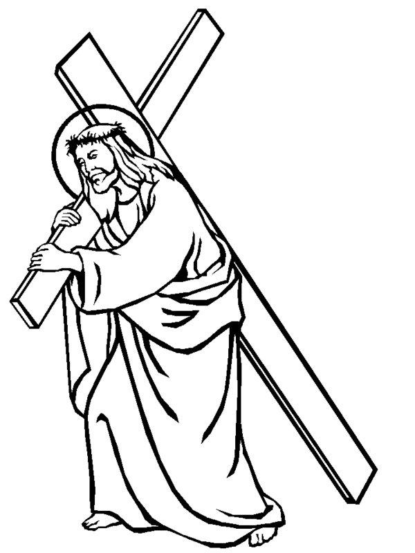 600x800 Free Printable Jesus Clipart