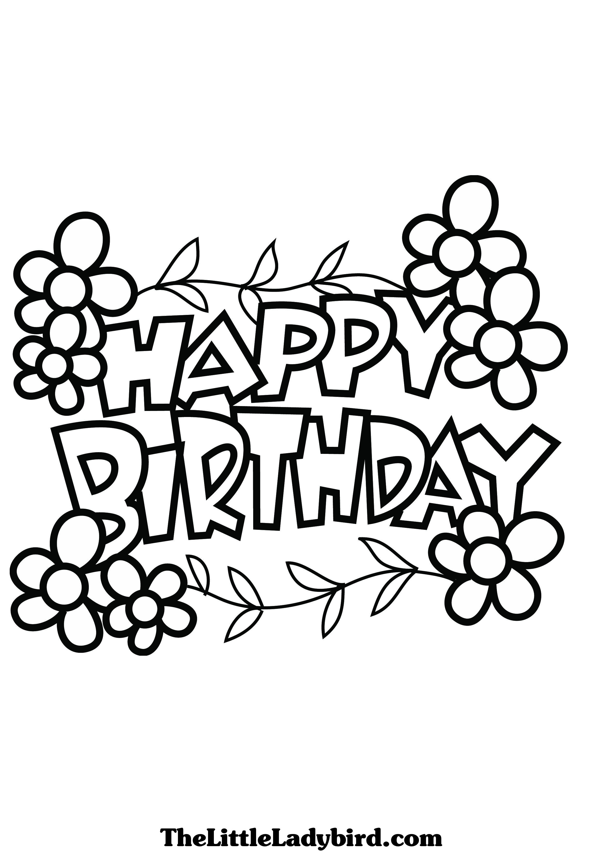 2480x3508 Beautiful Balloons For Birthday Coloring Page Kids Holiday Pages