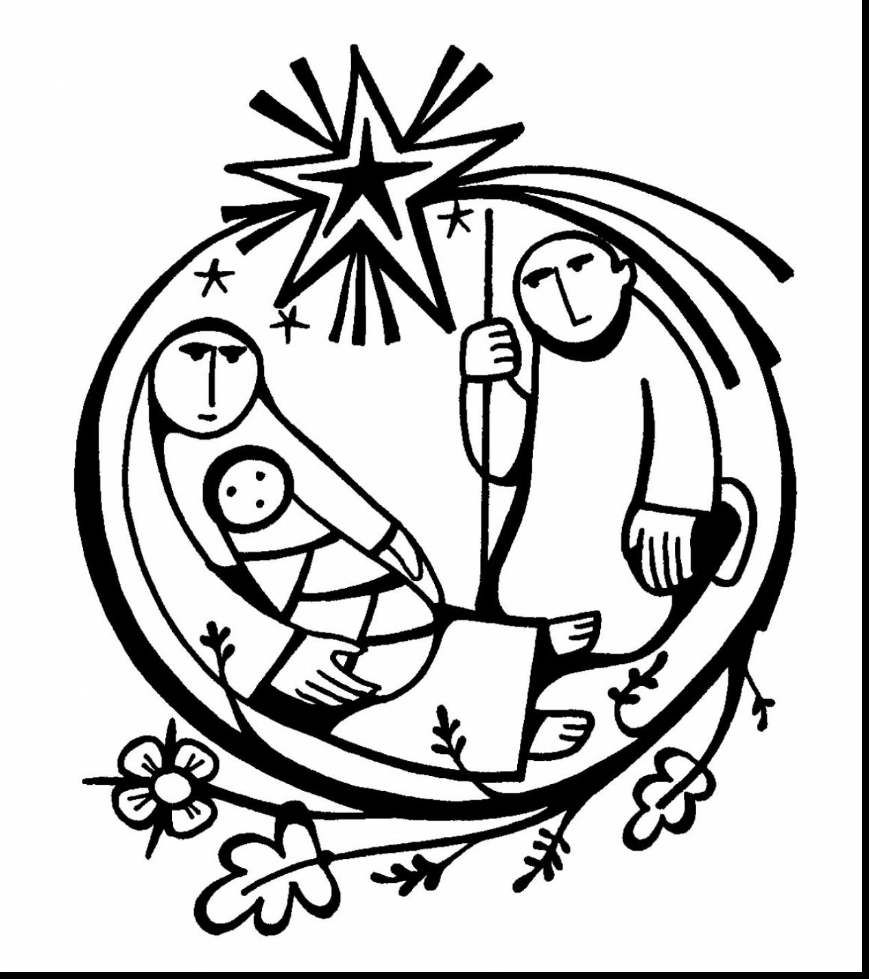 1267x1427 Amazing Baby Jesus Coloring With Baby Jesus Coloring Pages