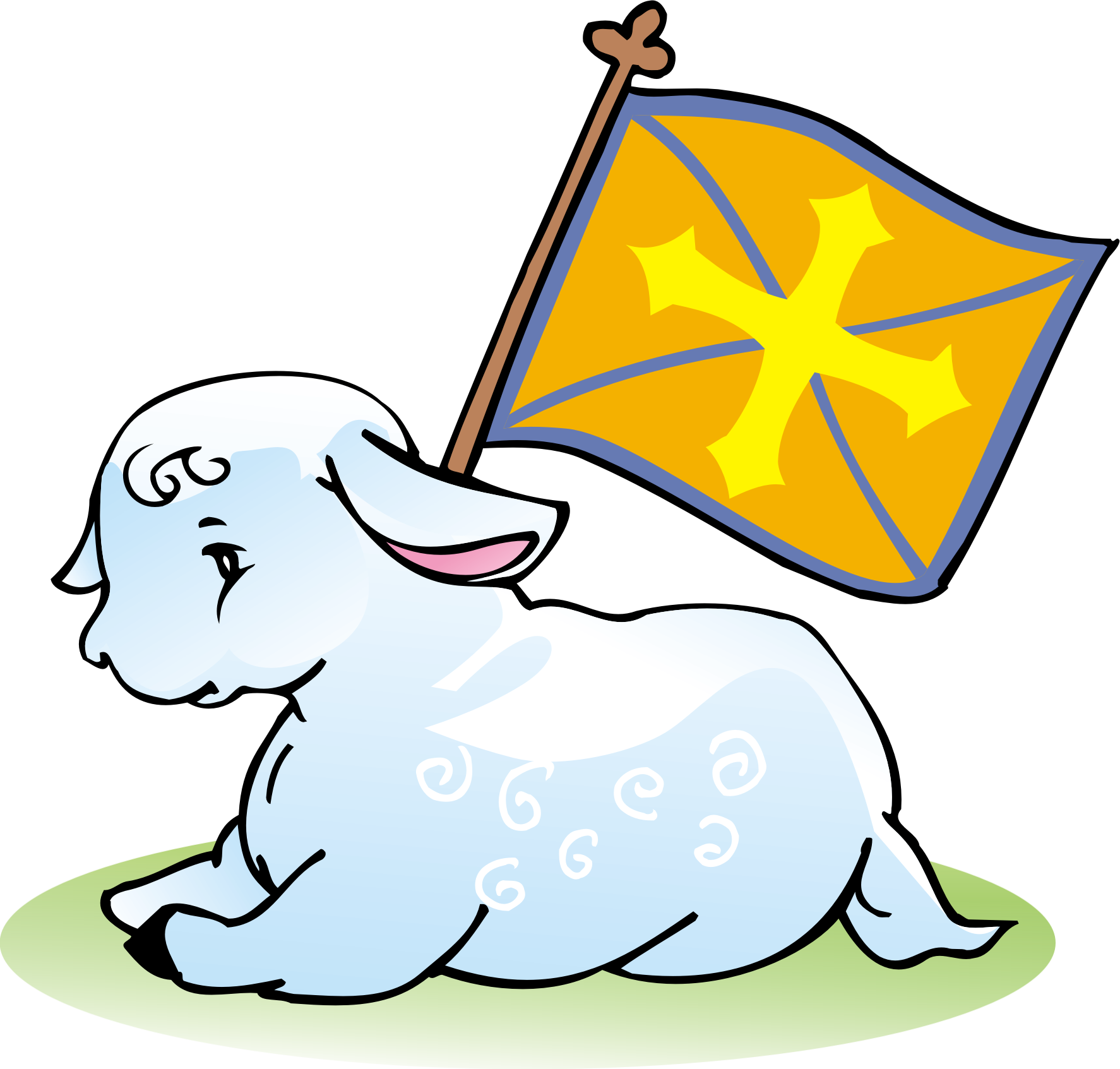 1774x1693 Lamb Clipart Lamb God