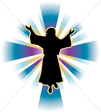 351x388 Jesus Clipart