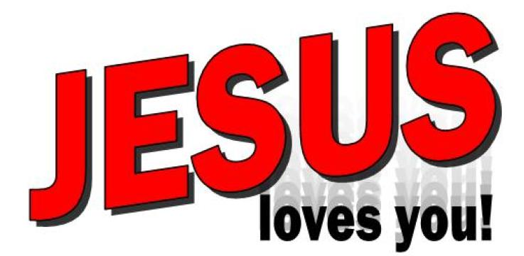 737x360 Jesus Loves You Icons