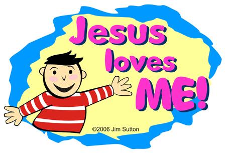 450x307 Jesus Loves Me Clipart Image Clipartmonk