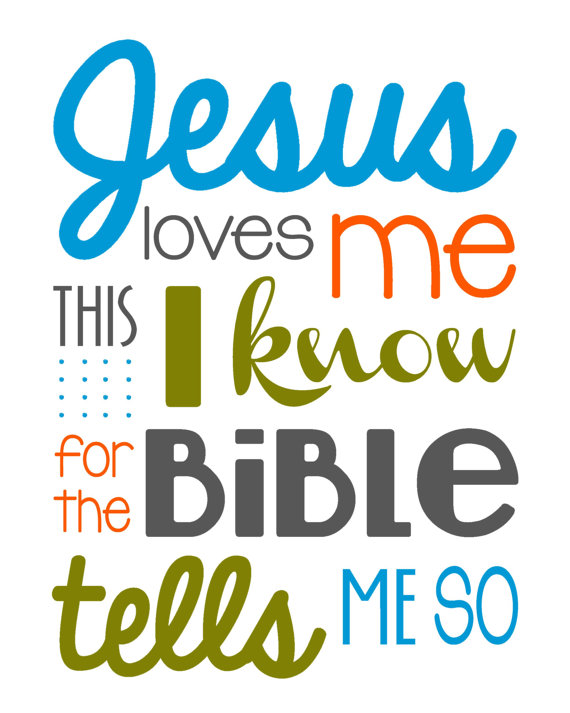 570x713 Jesus Love Me This I Know For The Bible Boy By Sweetleighmama