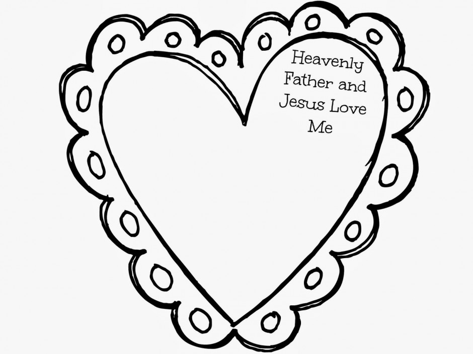 940x705 Jesus Loves Me Coloring Pages Many Interesting Cliparts