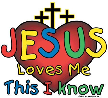 450x409 Jesus Loves Me