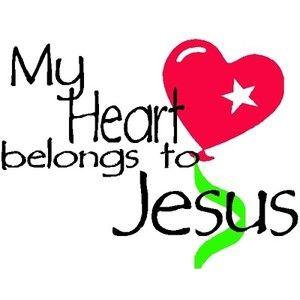 Jesus Loves Me Clipart
