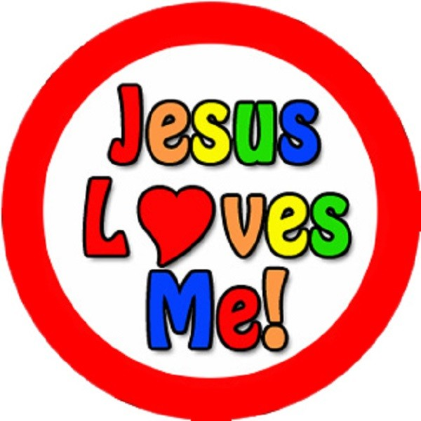 600x600 144 Jesus Loves Me Teacher Reward Stickers