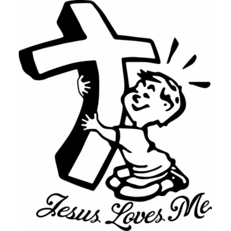 800x800 Jesus Loves Me