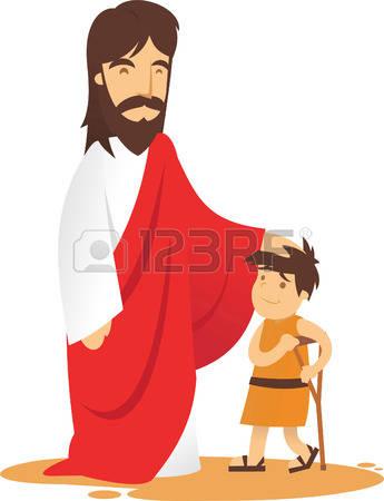345x450 Top 84 Jesus Children Clip Art