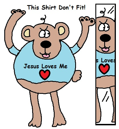 Jesus Loves You Clipart