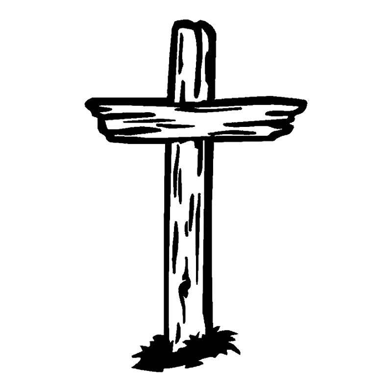 Jesus On The Cross Black And White