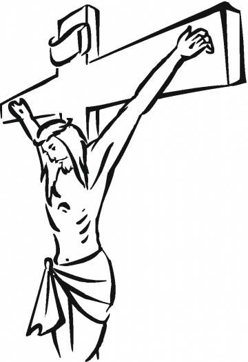 360x525 Good Friday Coloring Pages