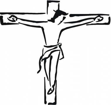 378x360 Jesus Clip Art Black And White Free Clipart Images