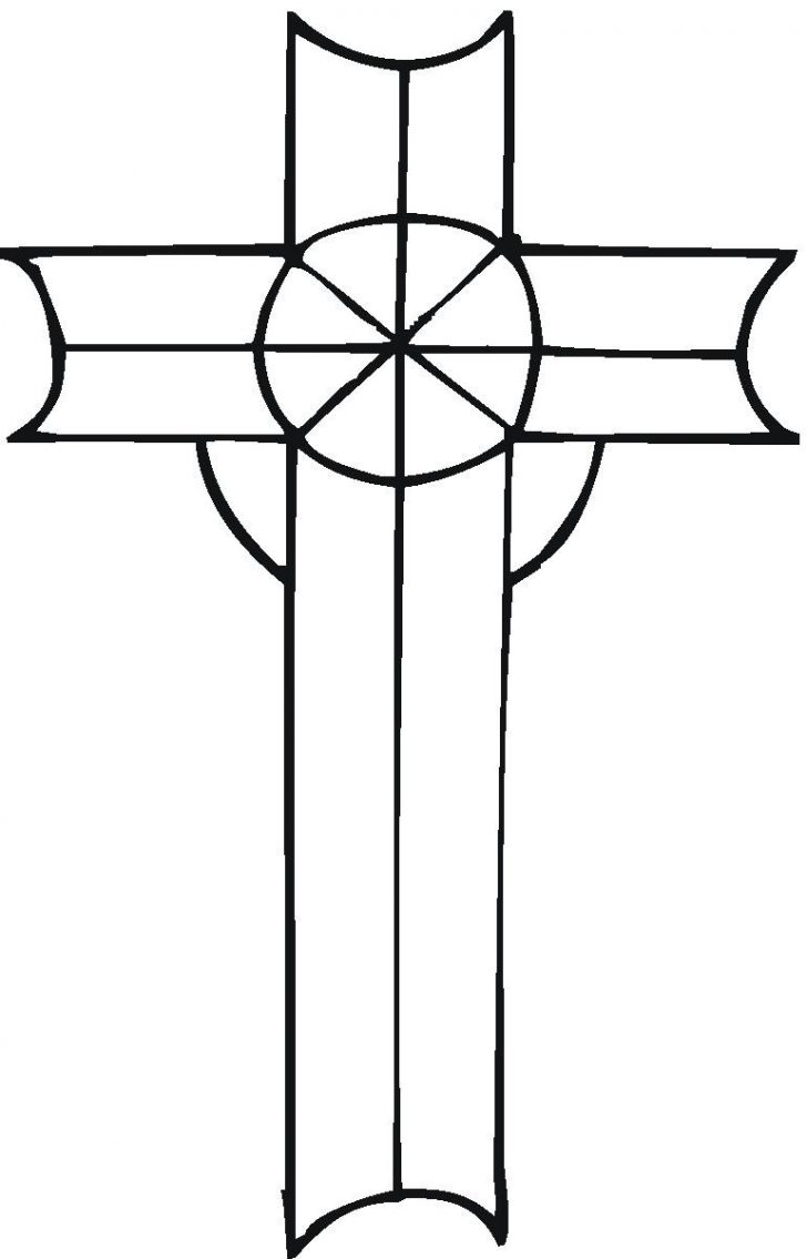 728x1135 Printable Cross Coloring Pages Free Printable Cross Coloring Pages
