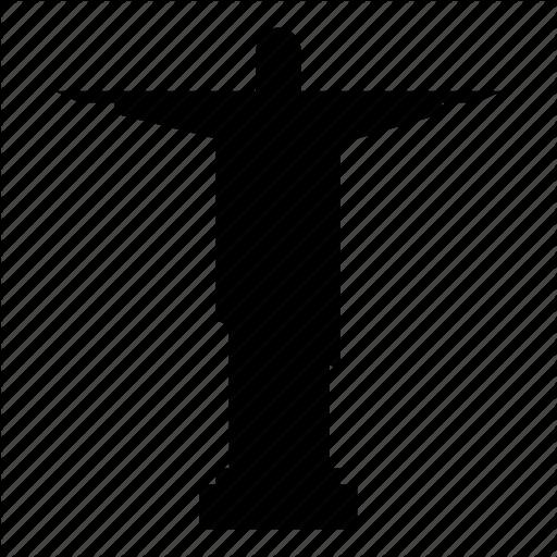 512x512 Art Deco Statue, Christ The Redeemer, Jesus Christ, Rio De Janeiro