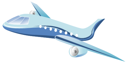 429x223 Aircraft Clipart Vector