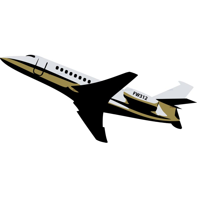 800x800 Corporate Jet Clipart
