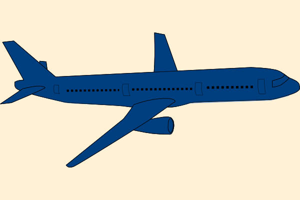 600x400 Airplane Cliparts