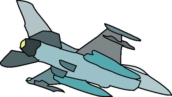 600x340 Military Fighter Plane Clip Art