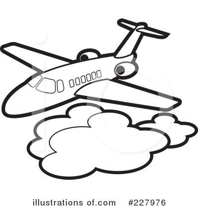 400x420 Airplane Clipart