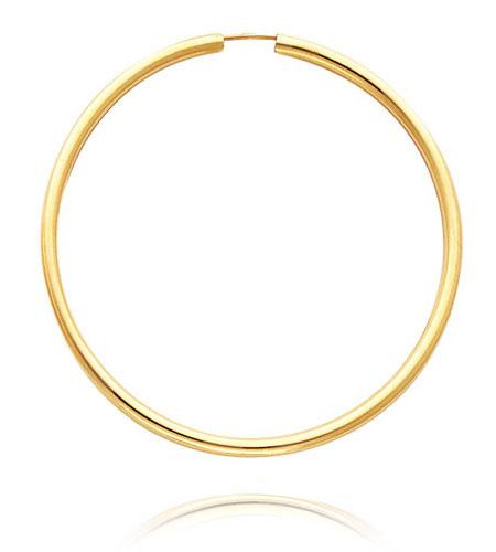 450x500 Gold Earring Clipart