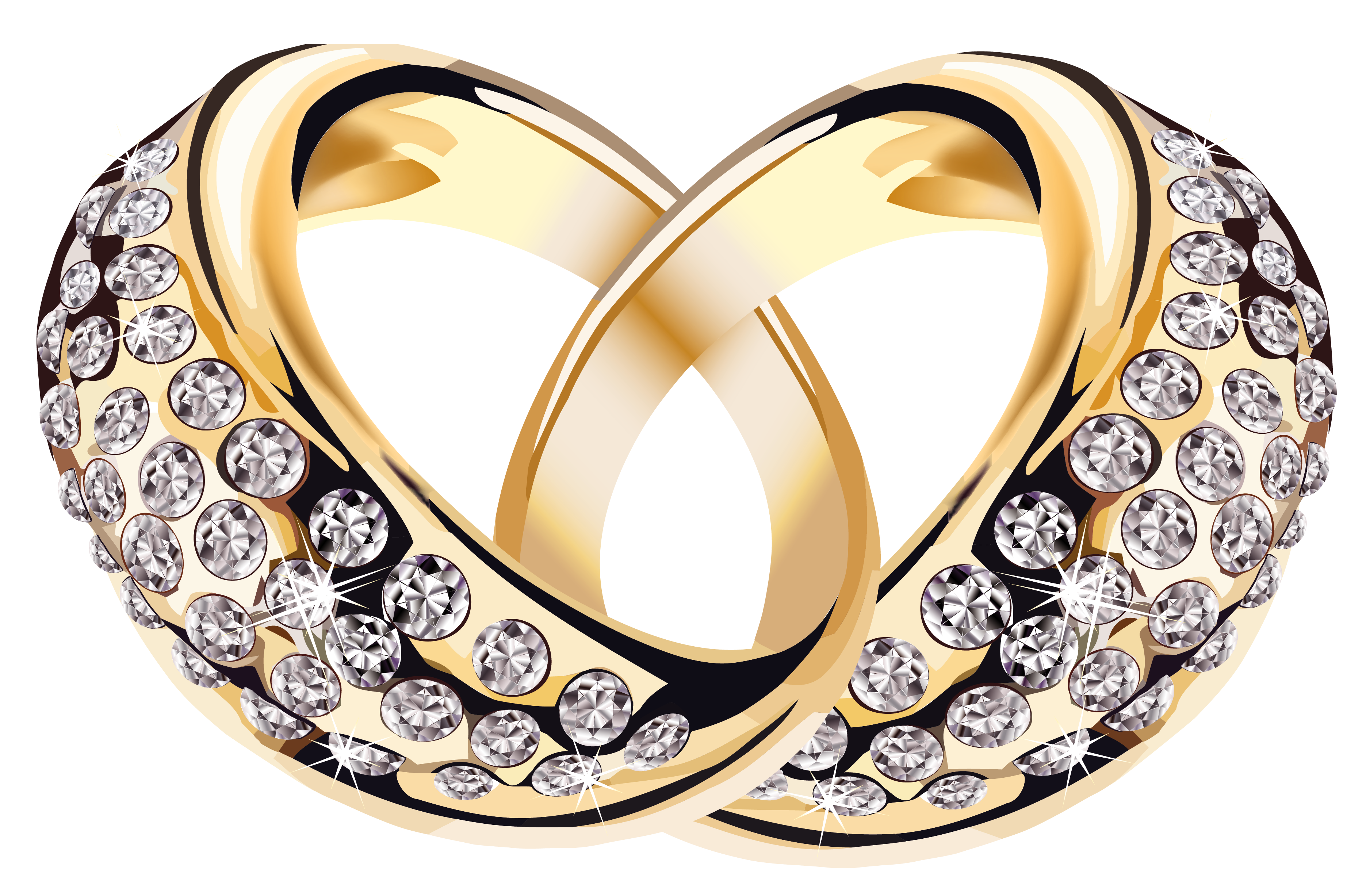 3741x2454 Gold Rings With Diamonds Png Clipart Pictureu200b Gallery