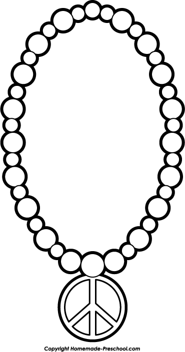 370x705 Jewelry Clipart Black And White