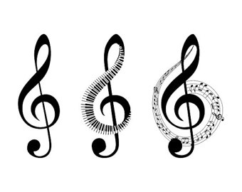 340x270 Music Clip Art Music Notes Svg Cut Files Music