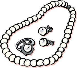 300x264 Cartoon Clipart Jewelry