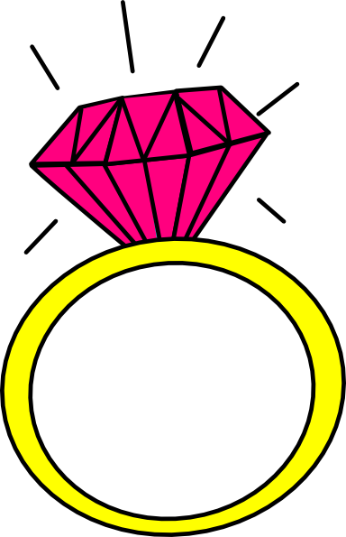 384x595 Jewelry Clipart Pink Ring