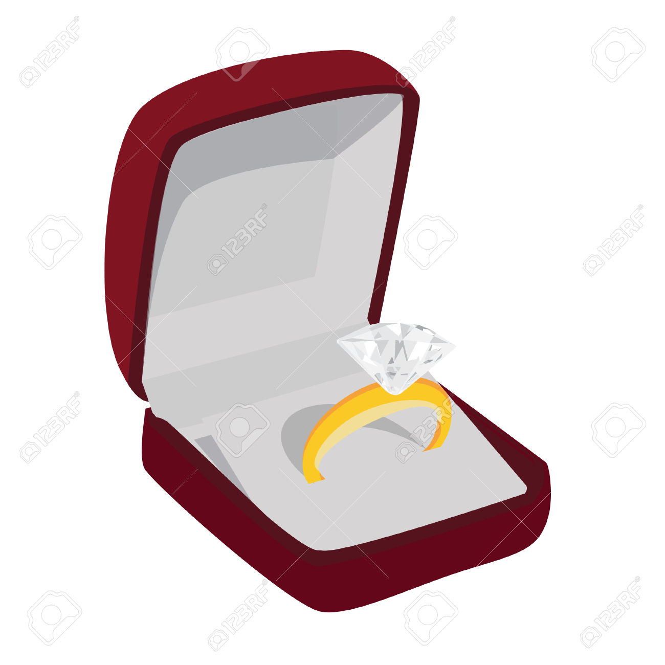 1300x1300 Jewelry Clipart Wedding Ring Box